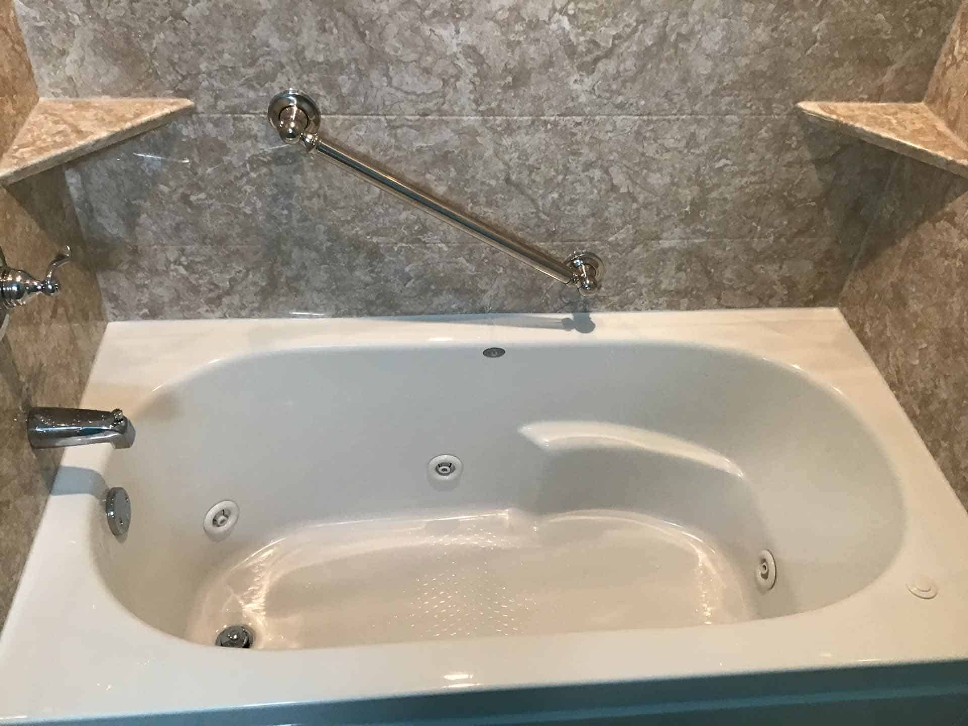 A tub conversion project in Tulsa, OK